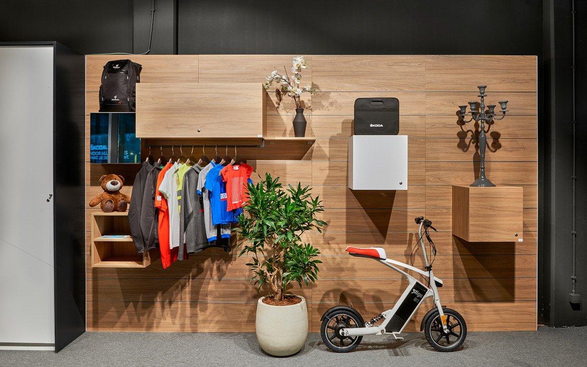 Skoda City Store in Brüssel (Foto: Umdasch)