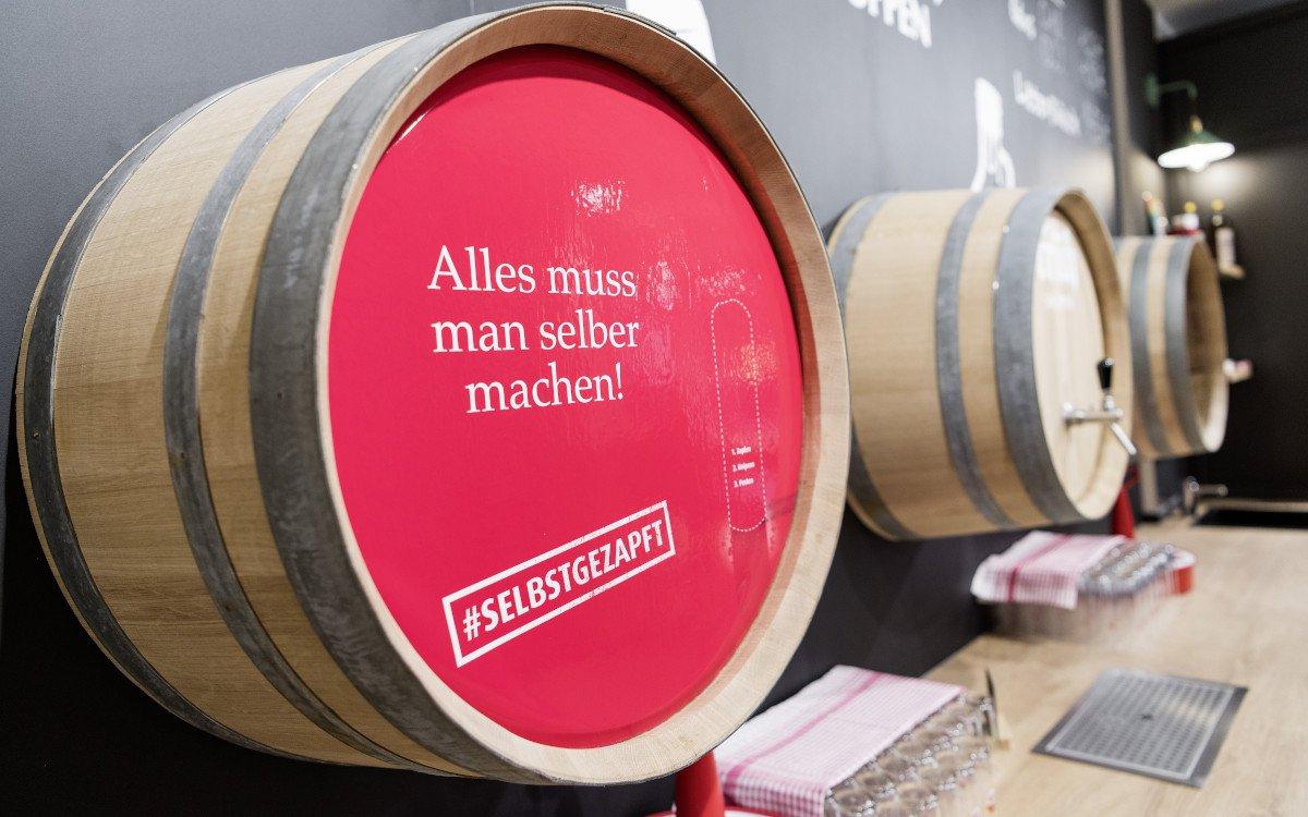 Wenig Digital Signage - viel Emotionen: Früh Brauhaus in Kön (Foto: umdasch)
