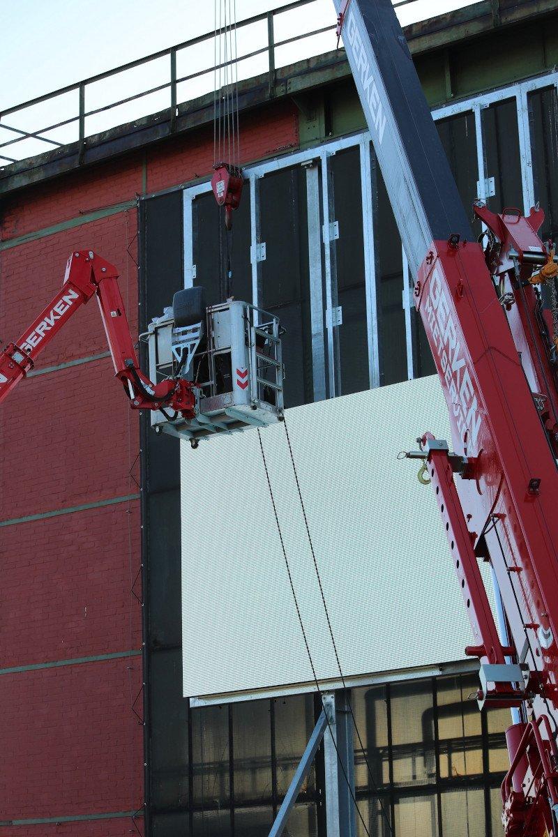 Neue LED-Wall am CentrO in Oberhausen (Foto: Innlights)