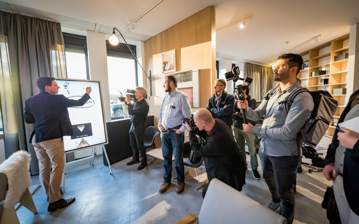 Samsung Connected Living Showroom in Schwalbach (Foto: Samsung)