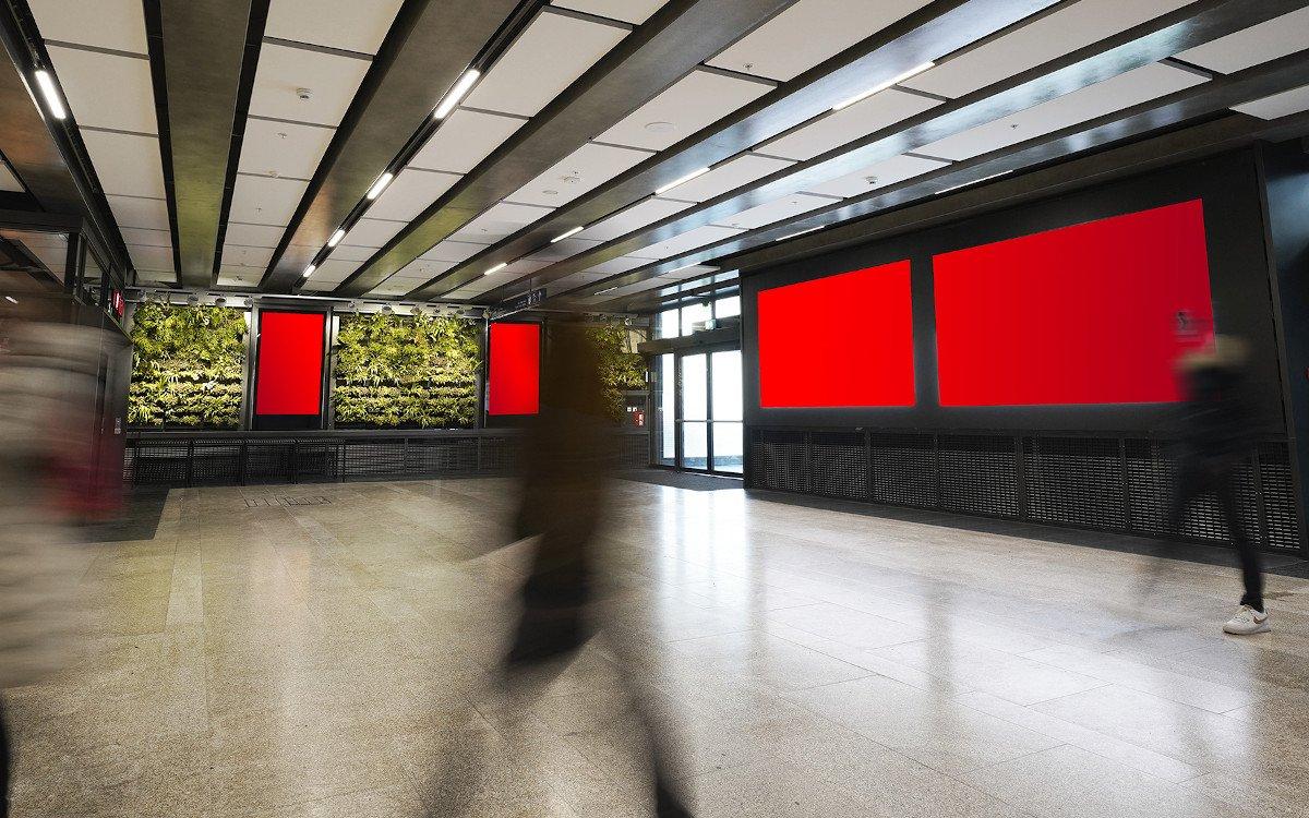 Neue DooH-Werbeflächen der APG in der Westschweiz (Foto: APG)