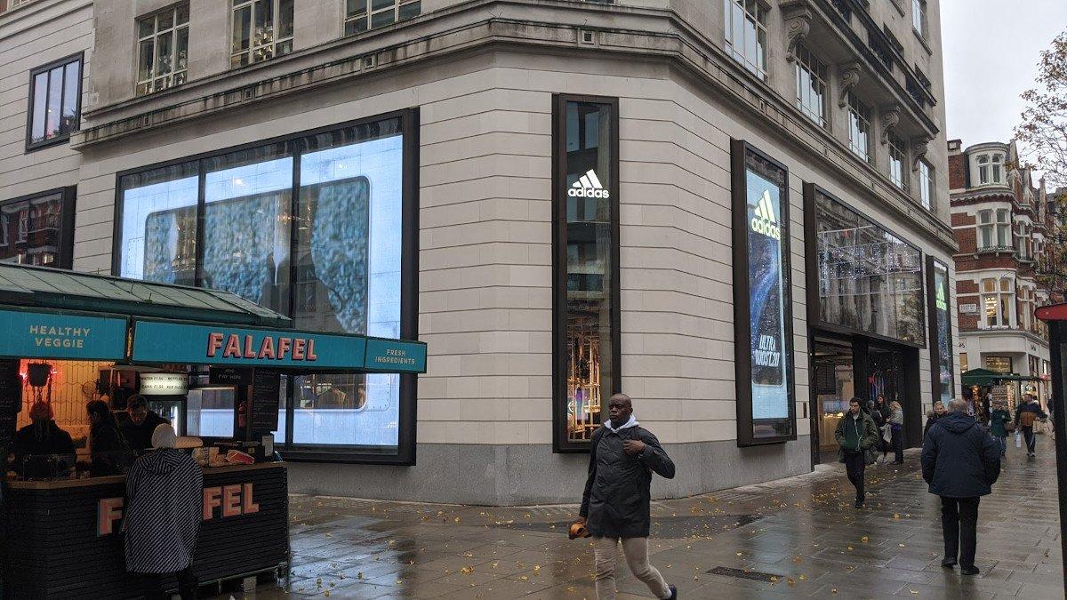 Adidas LDN Flagship in London (Foto: invidis)