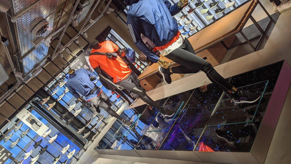 Digital soweit das Auge reicht - Adidas LDN (Foto: invidis)