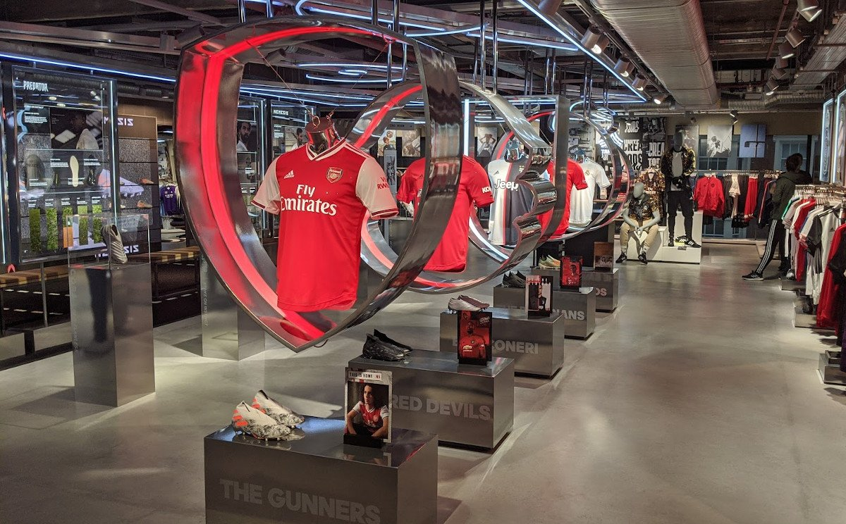 Adidas LDN Flagship Store in London (Foto: invidis)