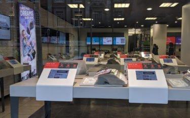 Katalog meets Digital bei Argos in London (Foto: invidis)