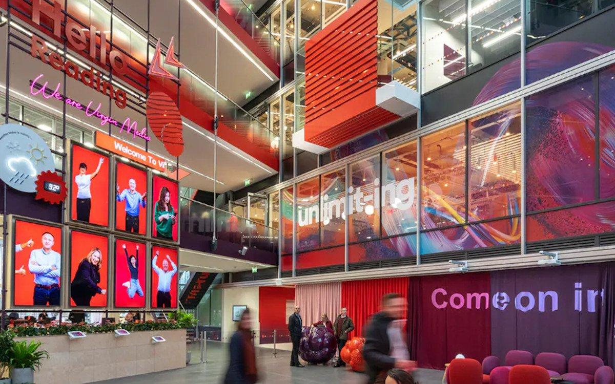Neue Zentrale von Virgin Media in Reading/UK (Foto: Dalziel & Pow)