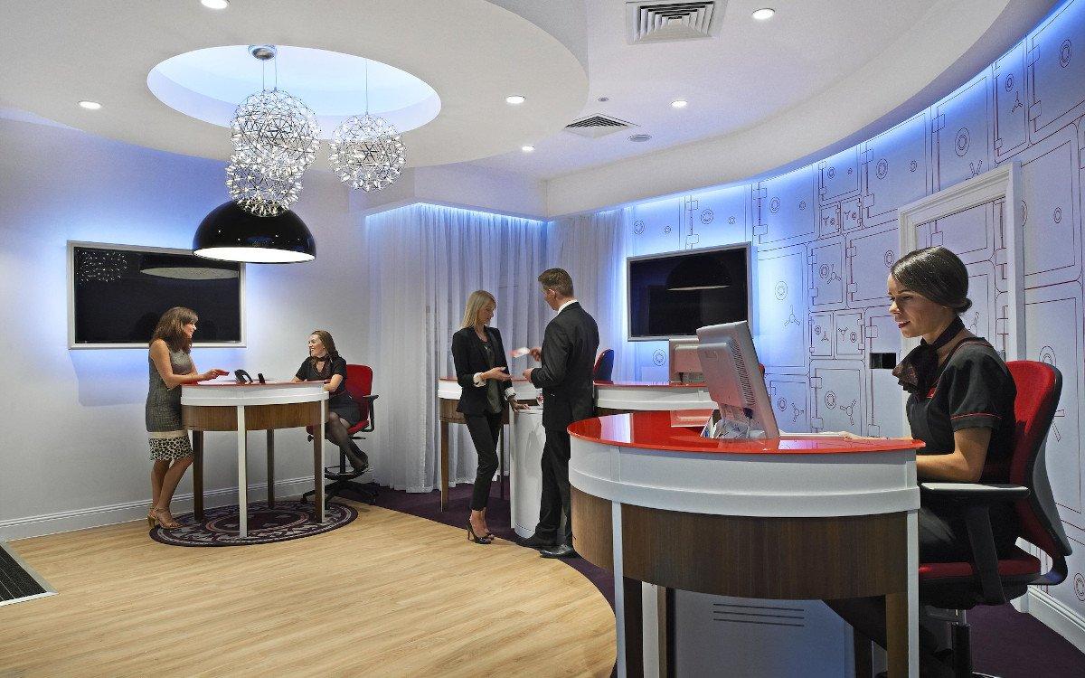 Virign Money Bankfiliale in London (Foto: Virign Money)