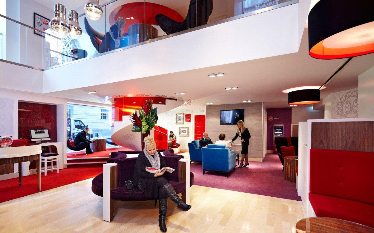 Virign Money Bankfiliale in Manchester (Foto: Virign Money)
