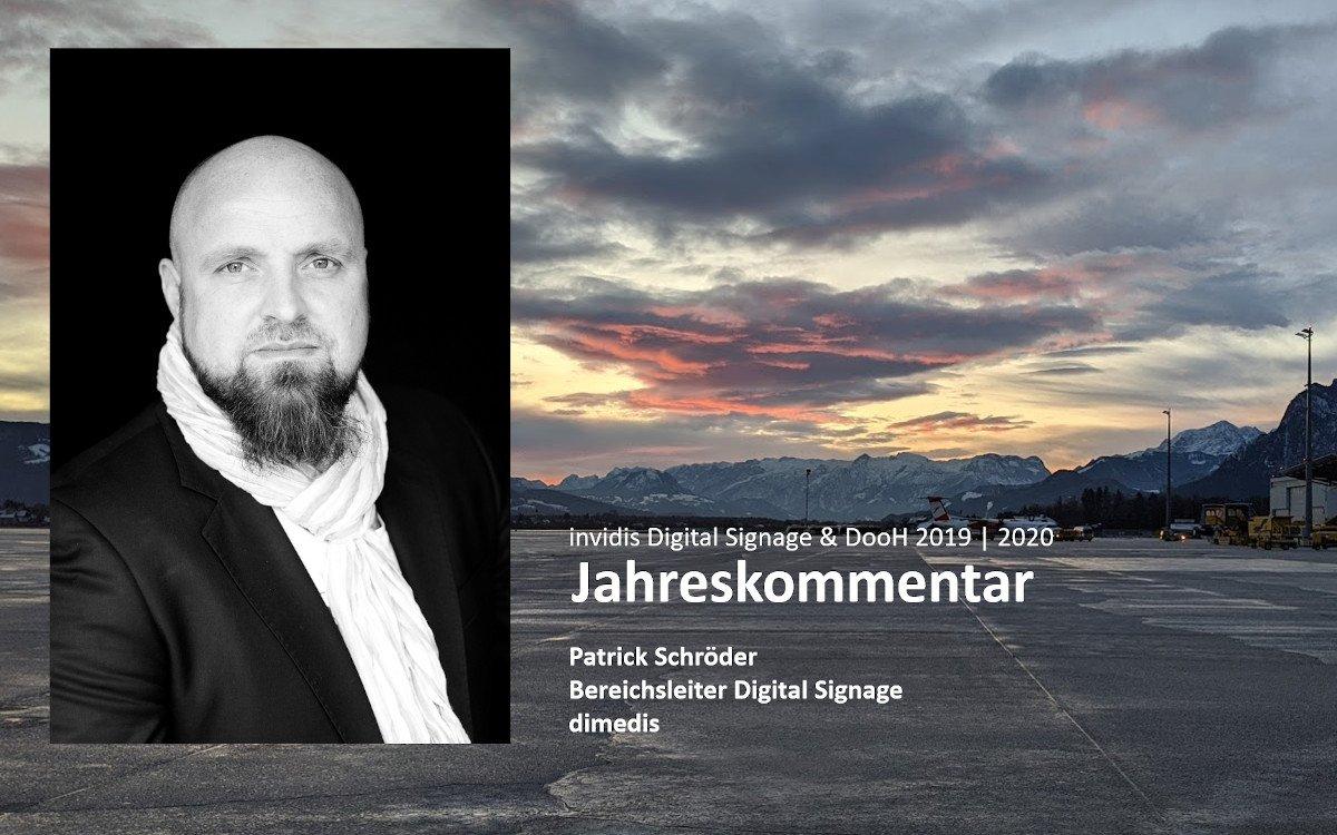 Patrick Schröder - Bereichsleiter Digital Signage - dimedis (Foto: dimedis)