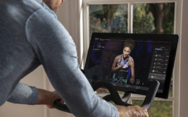 "Social Fitness a la Peloton mit 32"" Display (Foto: Peloton)"