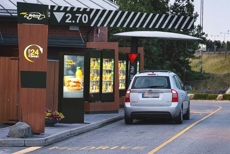 mcDonalds digitalisert DriveThru (Foto: VisualArt)