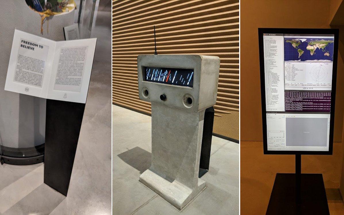 Digital Signage Vielfalt am Ende Europas - Estnisches Nationalmuseum in Tartu (Fotos: invidis)