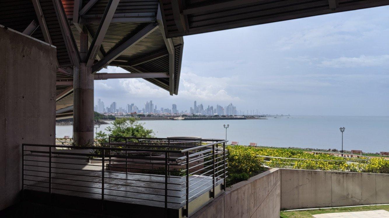 Blick vom Museum auf Panama City (Foto: invidis)
