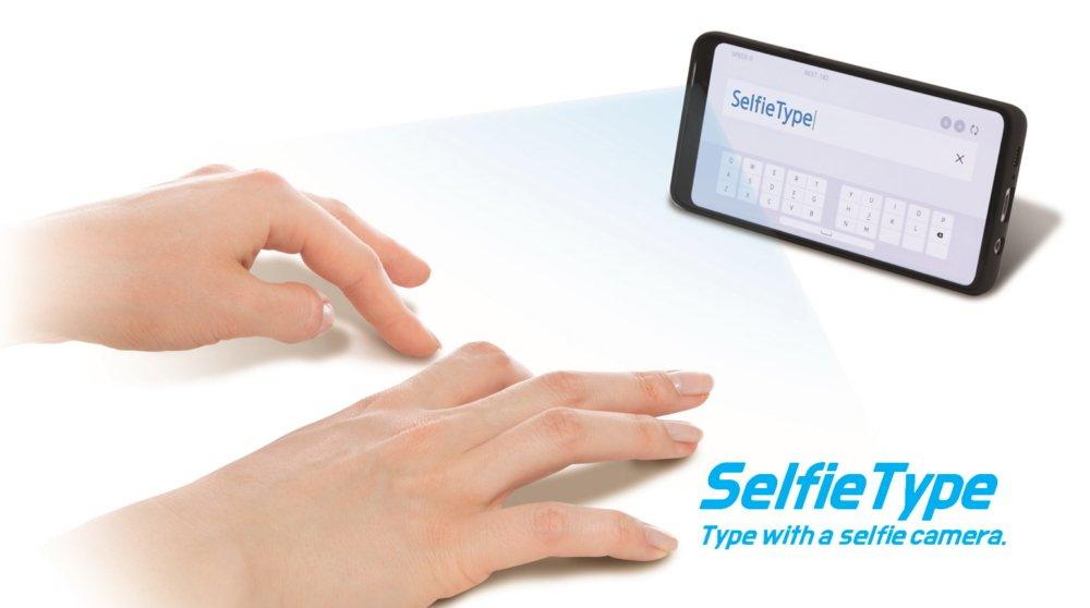Selfie Type (Foto: Samsung)