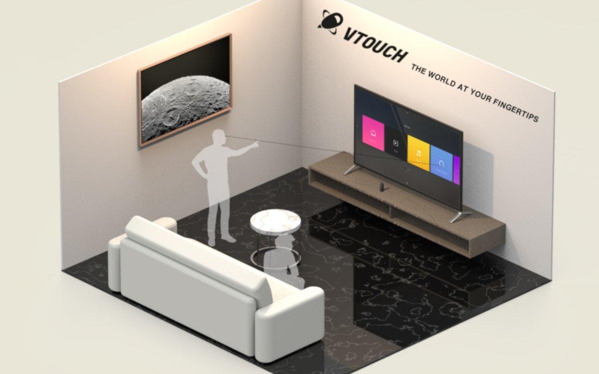 VTouch - Berphrungslose Steuerung von Digital Signage (Foto: Samsung)