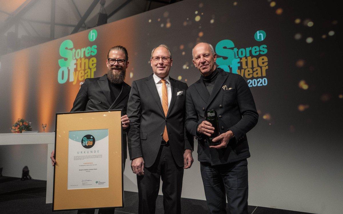 Store des Jahres 2020 - Daniel Füchtenschnieder und Stefan Genth (beide Bonprix Connect) (Foto: bonprix)
