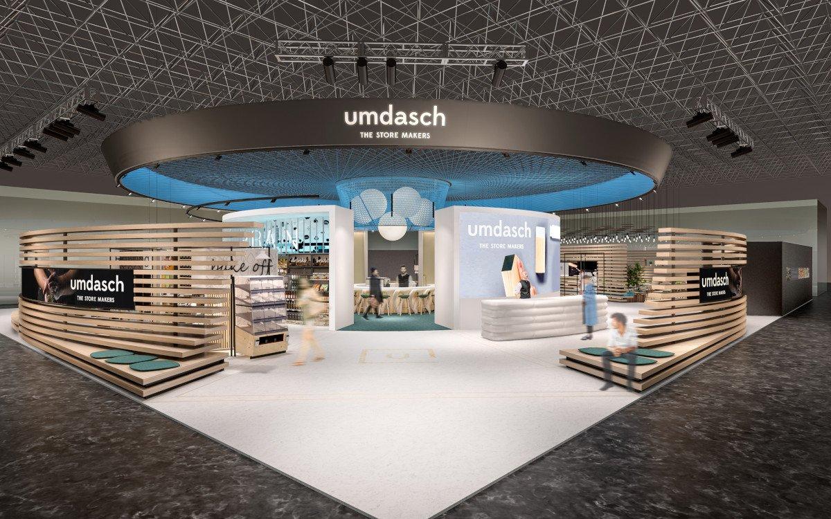 Umdasch Euroshop 2020 Messestand (Foto: Umdasch)