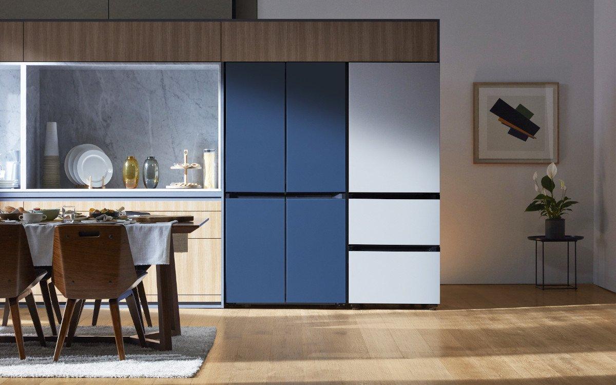 Design Kühlschränke bei Samsung nicht nur fürs Wohnzimmer (Foto: Samsung)