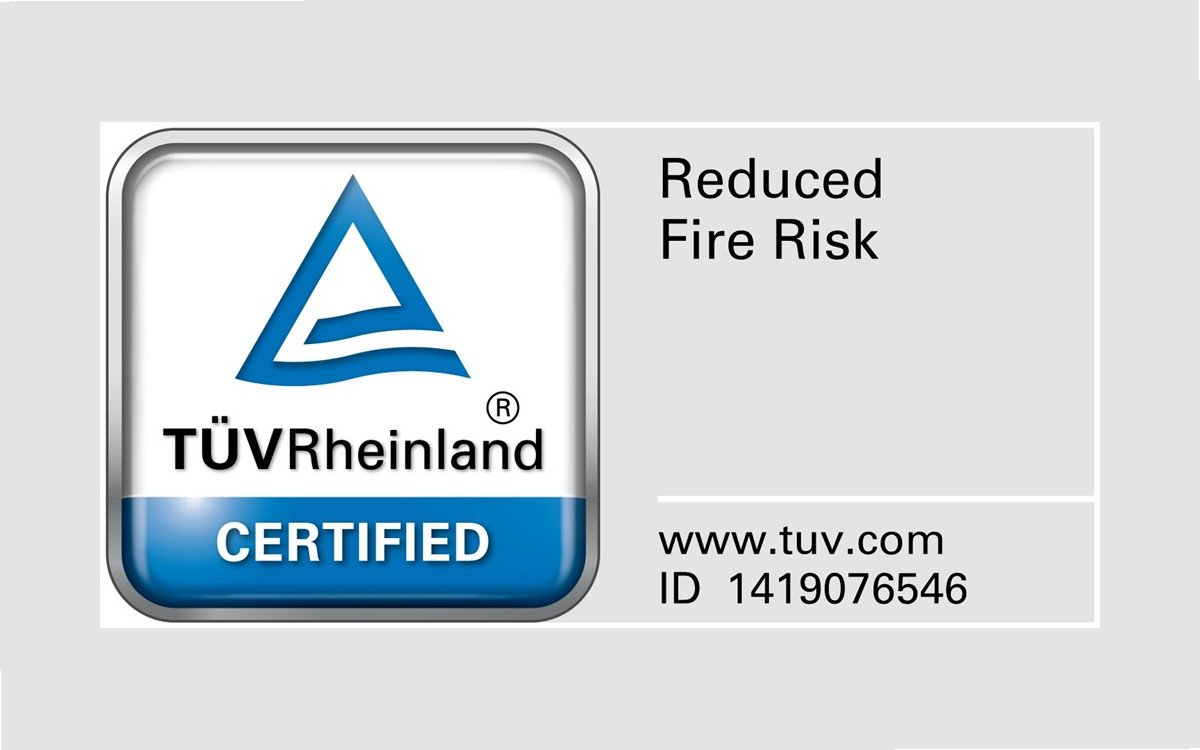 Brandschutzdesign von Samsung Displays wurde vom TUV zertifiziert (Foto: Samsung)