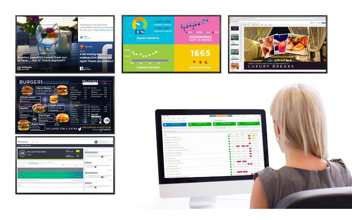 Signagelive Web-Content (Foto: Signagelive)