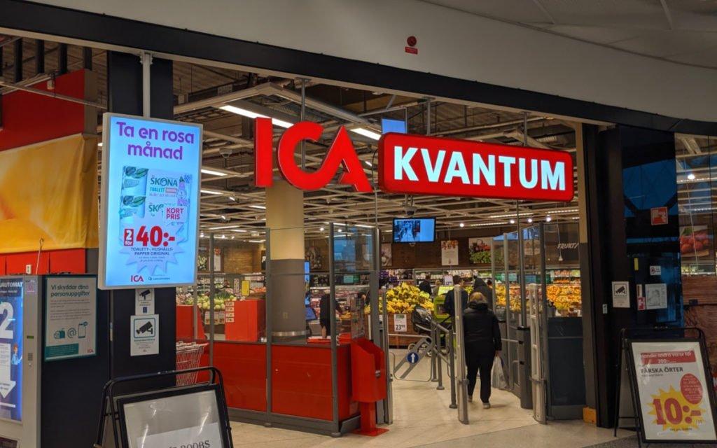 ICA Digital Signage in Malmö (Foto: invidis)