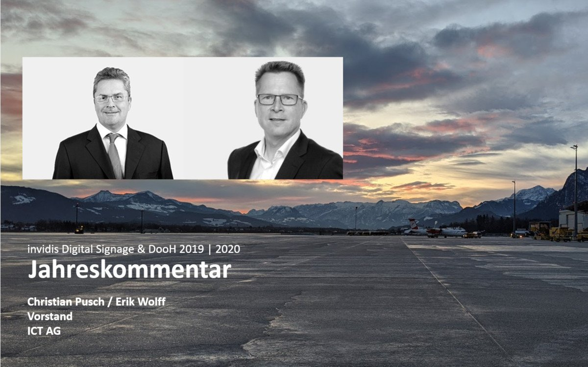 Christian Pusch und Erik Wolff / ICT AG (Fotos: ICT)
