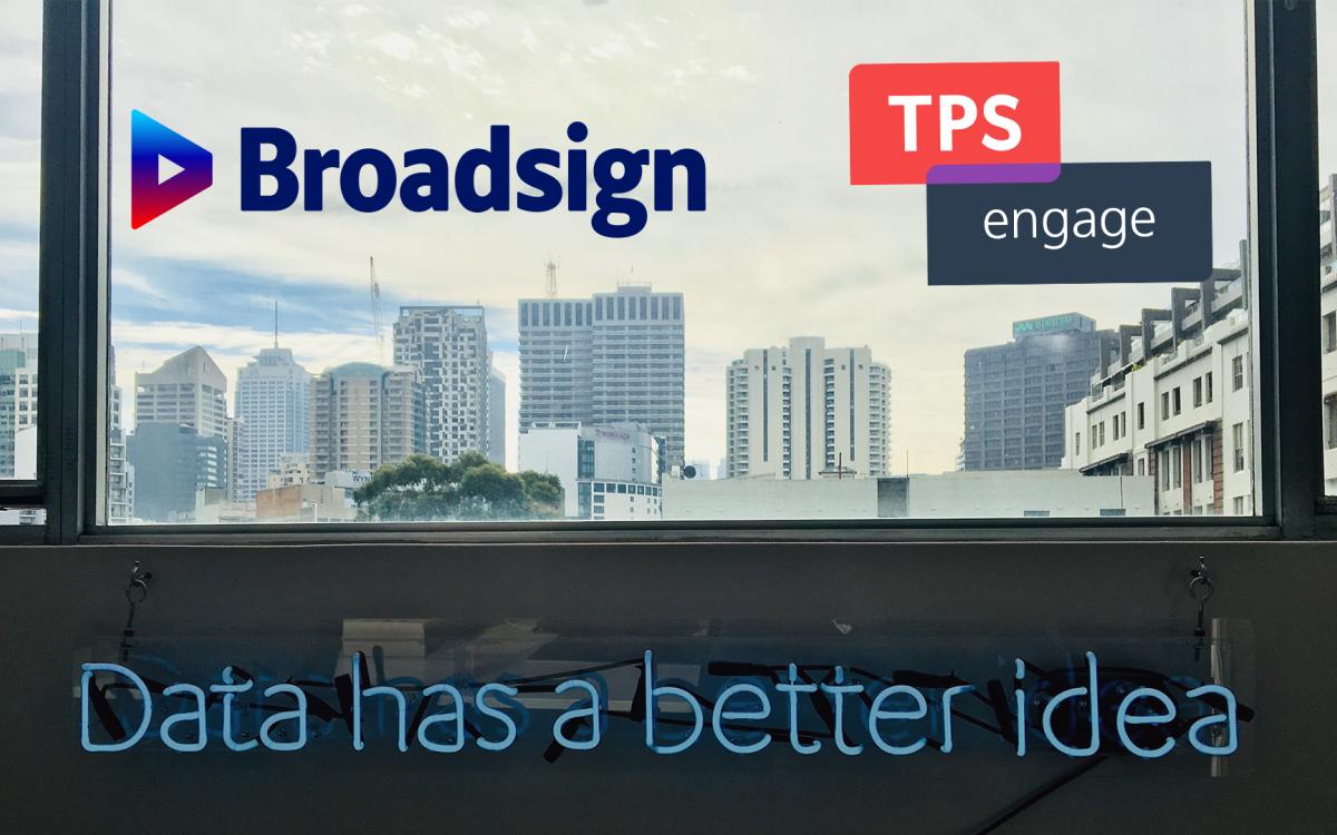 Broadsign und TPS Engage verkünden Partnerschaft