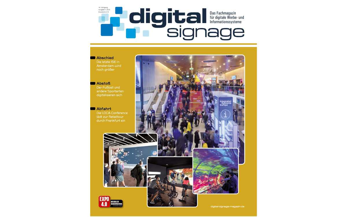 Digital Signage Magazin 1 2020
