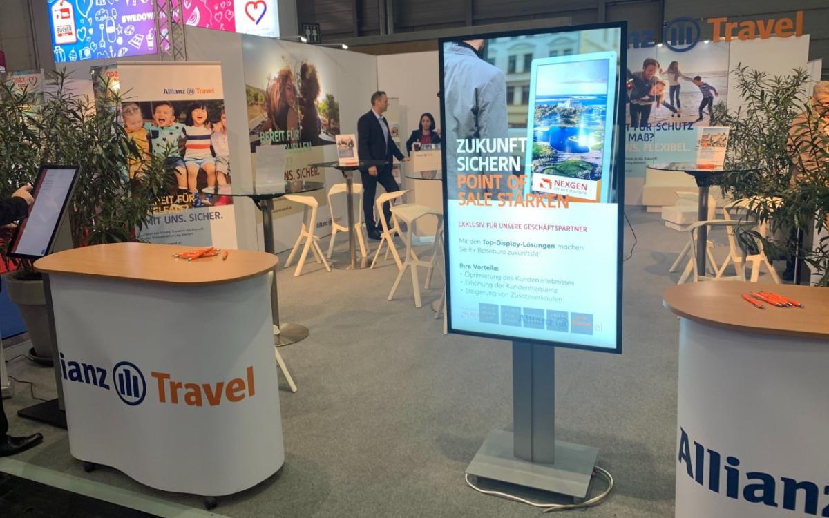 Nexgen und Allianz Partner Reisemesse Wien