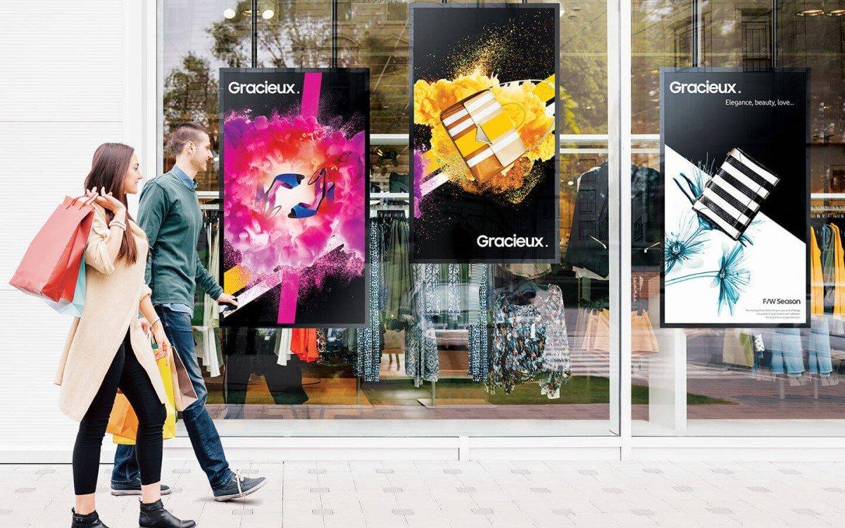 Samsung ISE 2020 Digital Signage