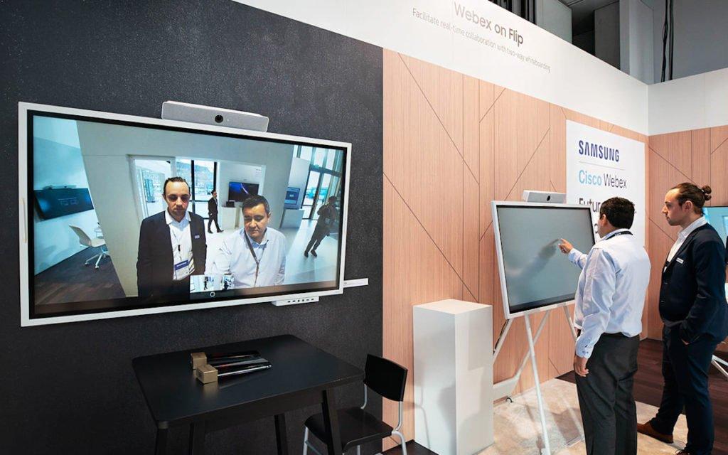 Flip 2 und Cisco Webex (Foto: Samsung)