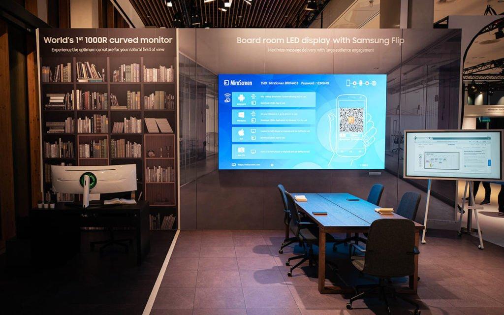 Flip2 bringt Interaktion in den Meeting-Room (Foto: Samsung)