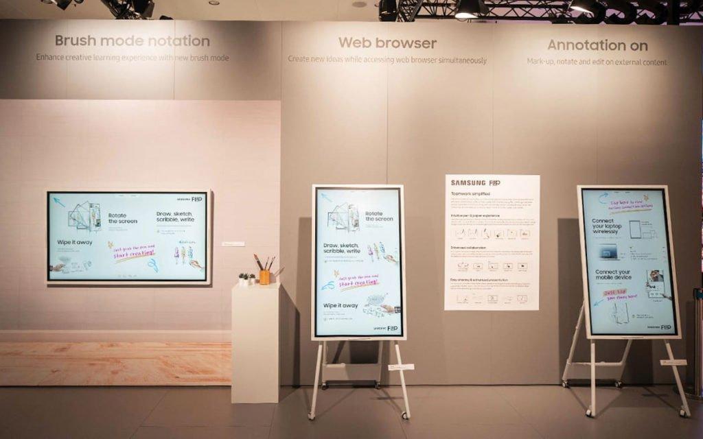 Flip2 mir Cisco Webex (Foto: Samsung)