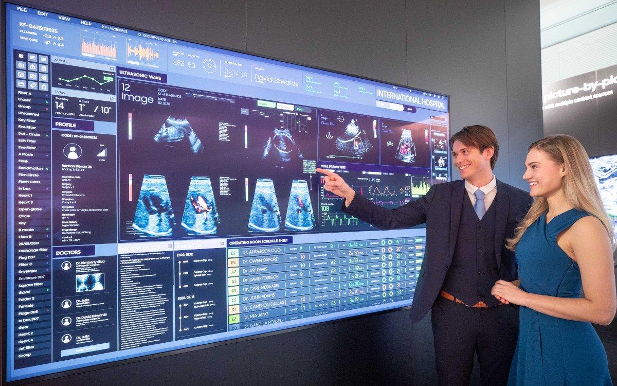 UHD von Samsung für Healthcare Projekte (Foto: Samsung)