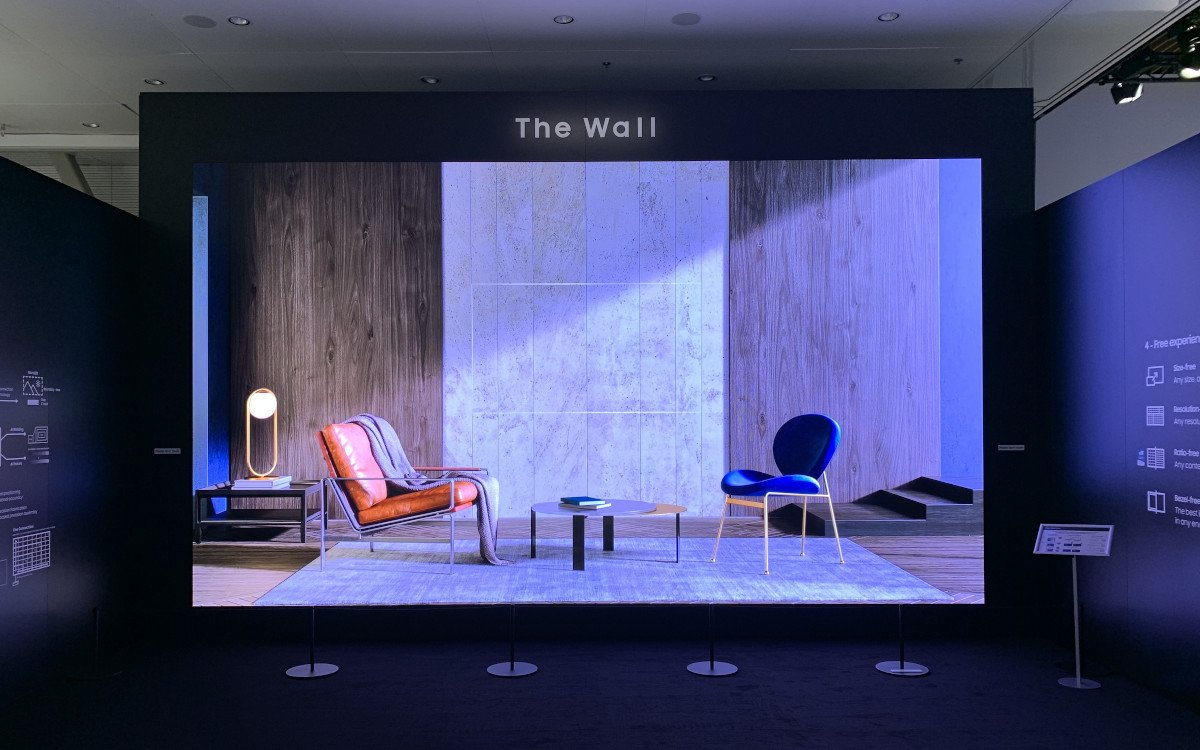 "Samsung The Wall for Business - 292"" in 8k (Foto: invidis)"