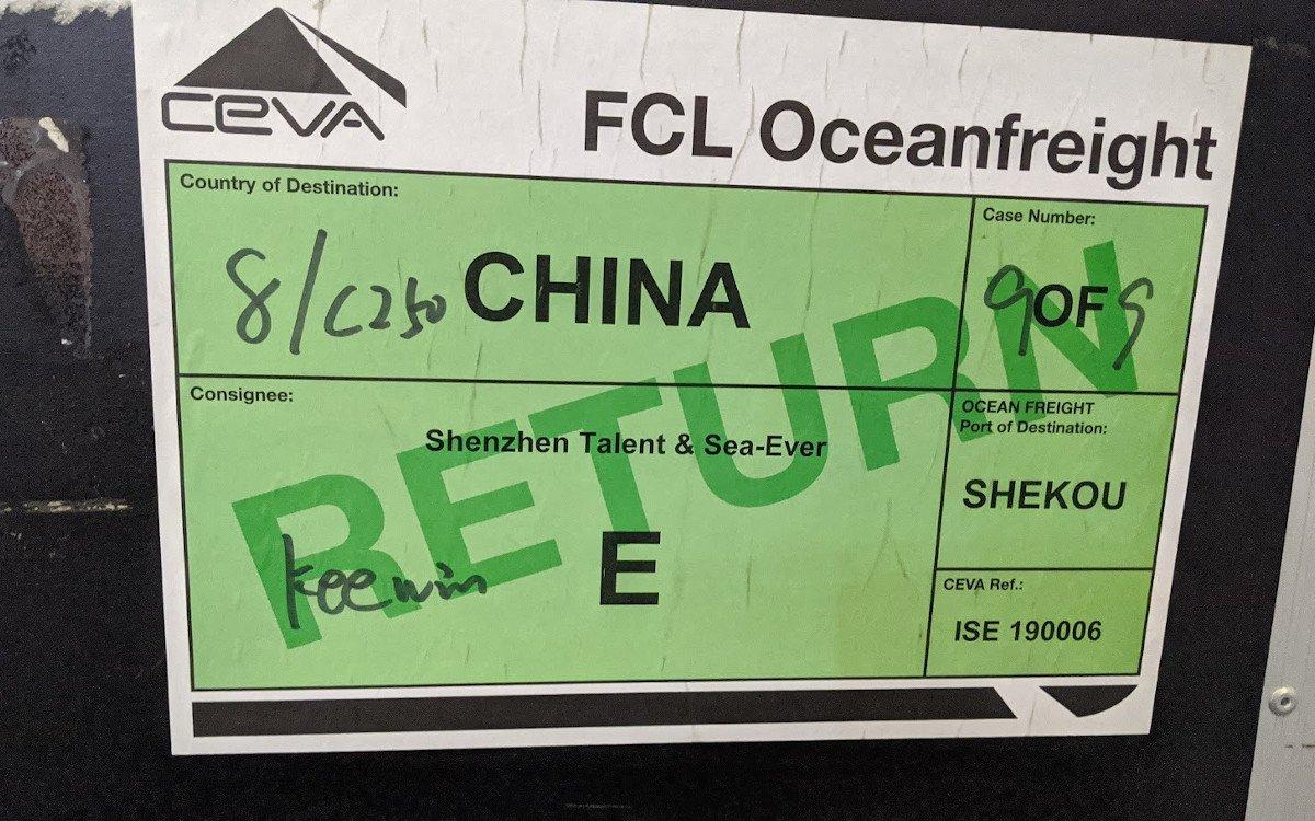 Return to China - Messegut auf der ISE (Foto: invidis)