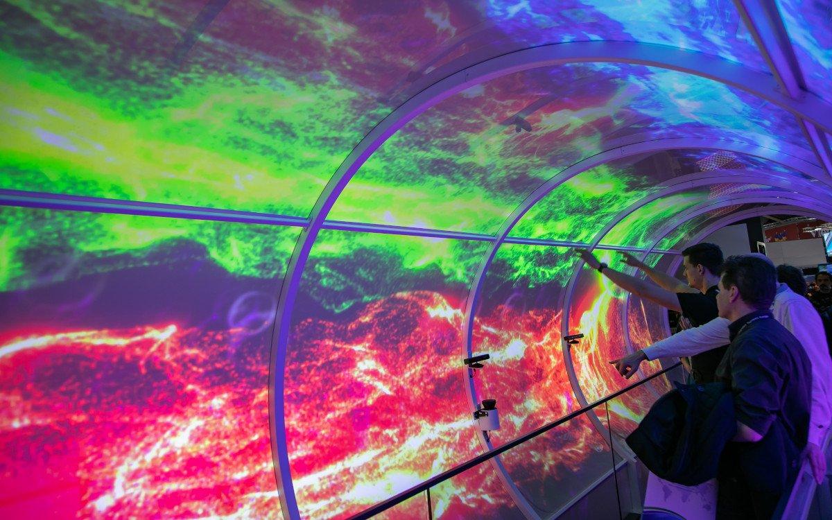 Licht im und am Ende des Tunnel - ISE eröffnet in 4 Tagen (Foto: ISE)