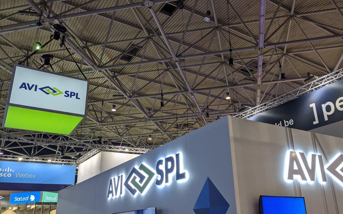 AVI-SPL auf der ISE 2020 (Foto: invidis)
