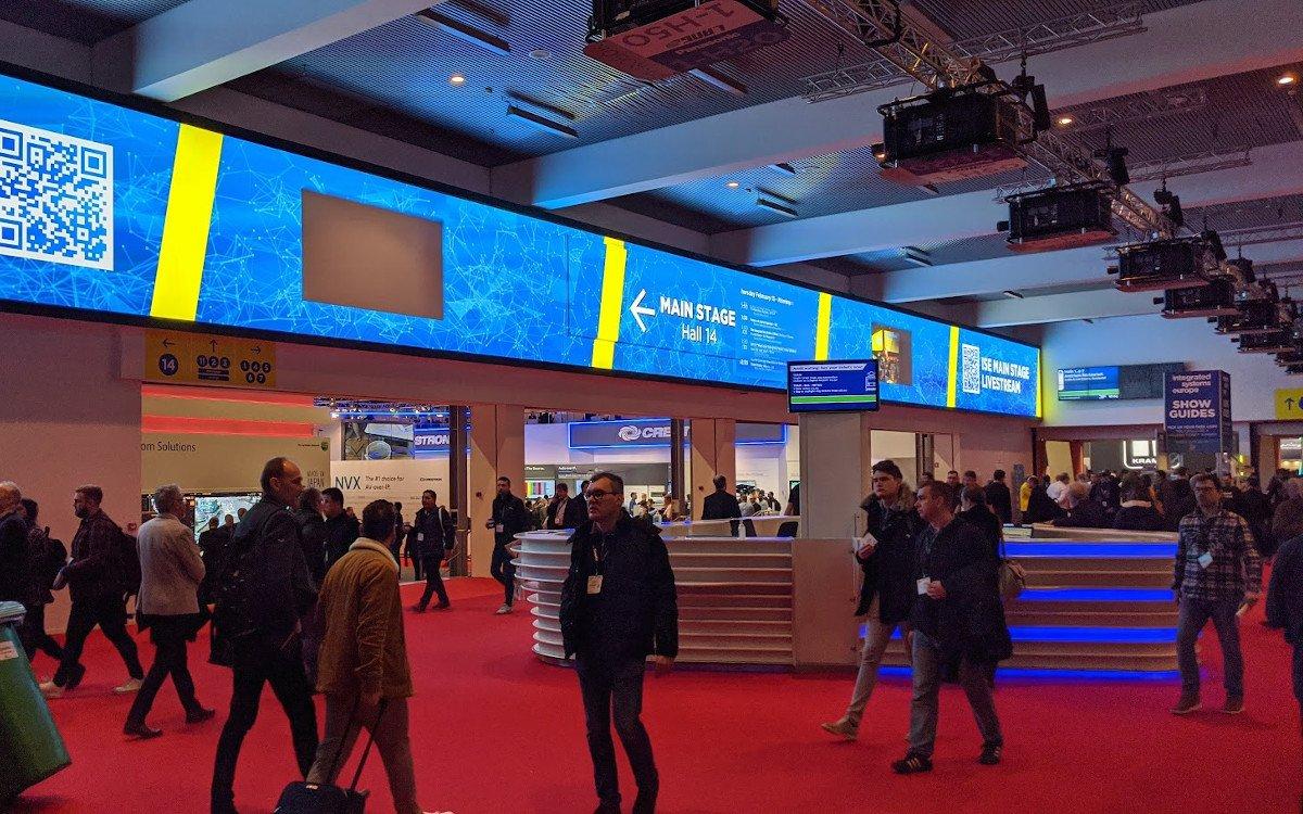 Eingangsbereich der ISE (Foto: invidis)