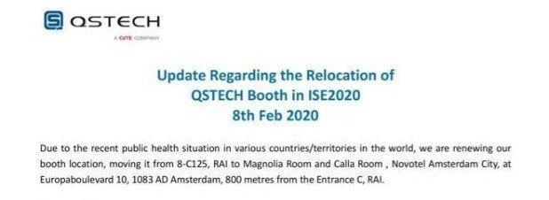 QStech zieht vom RAI ins Hotel (Foto: QStech)