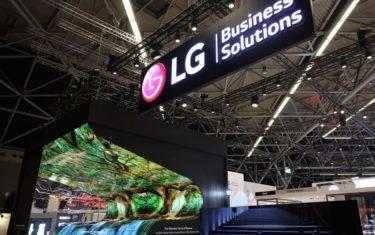 LG Stand auf der ISE 2019 (Foto: LG)