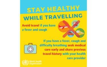 WHO Gesundheitshinweise (Foto: WHO)