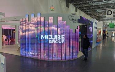 Europas Top 5 Digital Signage Integrator Mcube auf der Euroshop 2020 (Foto: invidis)