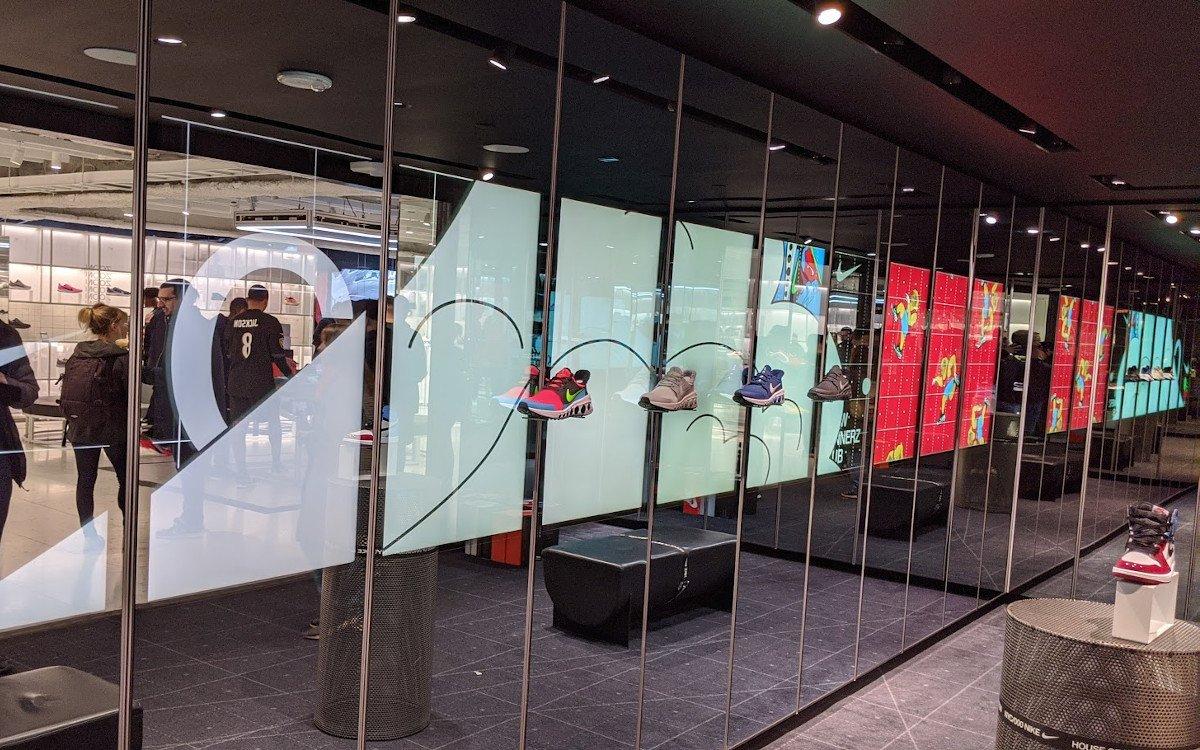 Nike Experience Store in New York City (Foto: invidis)