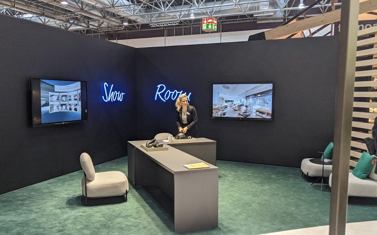 VR-Show Room bei Umdasch - realisiert mit Digital Partner B12 Studio aus Braunschweig (Foto: invidis)