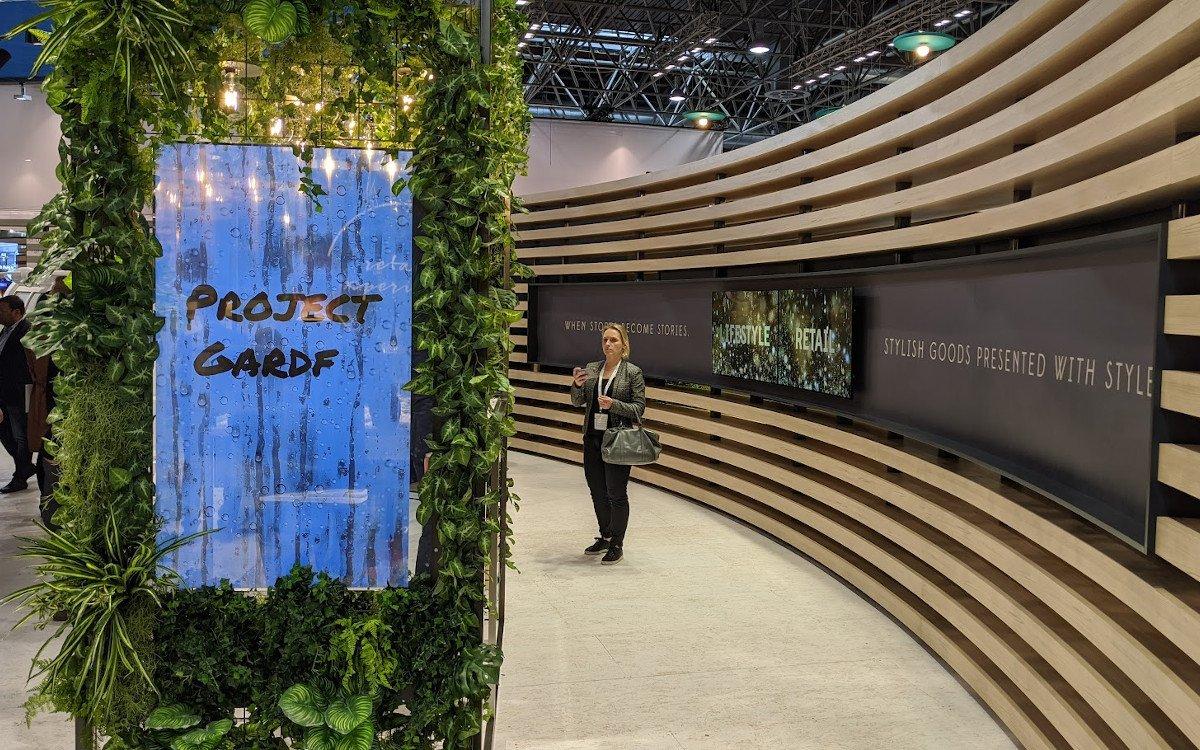 Umdasch Seen Media entwickelte wirkungsvollen Digital Signage Content für LG's transparente OLEDS (Foto: invidis)