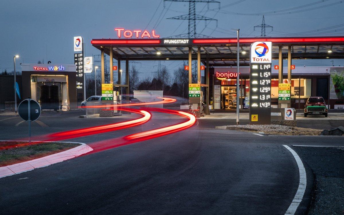 Total Tankstelle - Symbolbild (Foto: Total)