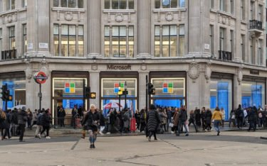 Microsoft Flagship-Store in London (Foto: invidis)