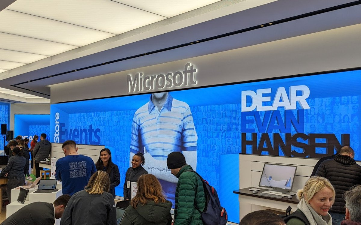 Microsoft Flagship-Store in London (Foto: invidis)