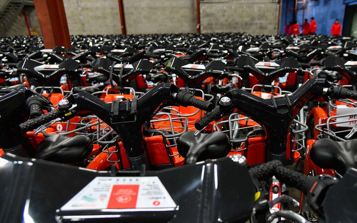 Neue Hybrid-Bikes von JCDecaux für Lyon (Foto: JCDecaux)